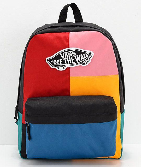 Vans Realm Patchwork Backpack | Taschen, Vans rucksack