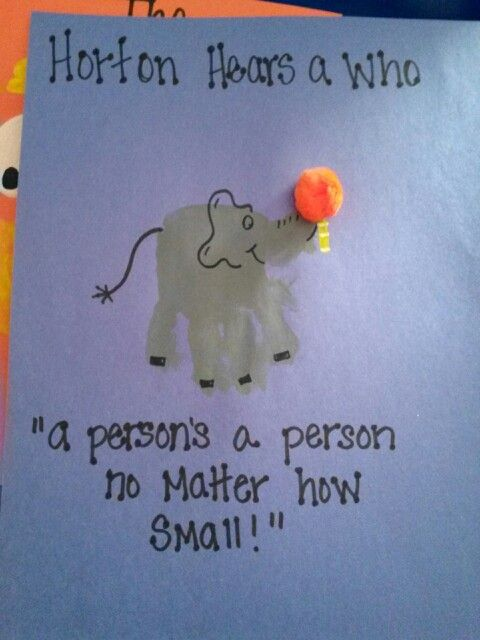 horton hears a who craft ideas print crafts horton hears a who and prints on 7768