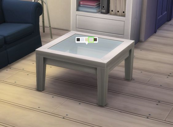 Mod The Sims - Square Coffee Table