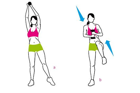 Fit in 15 Minuten Teil 19: Workout für sexy Bauchmuskeln  bauch teil 1   3x die woche, 3 durchgänge mit 30s pause dazwischen