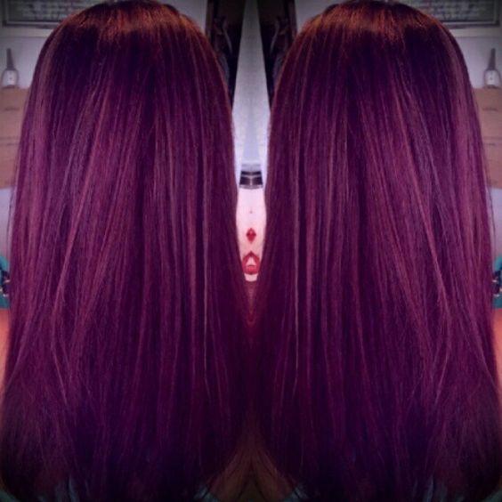 Stunning Purple Gem Haircolor By Shane Shanes Portfolio - Shane hairstyle color