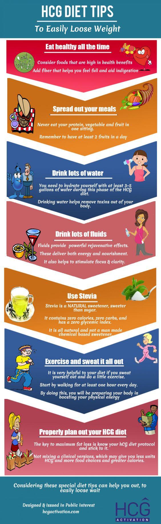 Hcg #Diet Tips #Infographic #Health