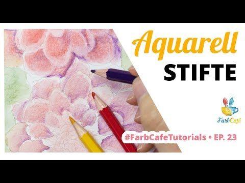 Wie Verwende Ich Aquarellstifte Farbcafe Tutorial 23 Youtube