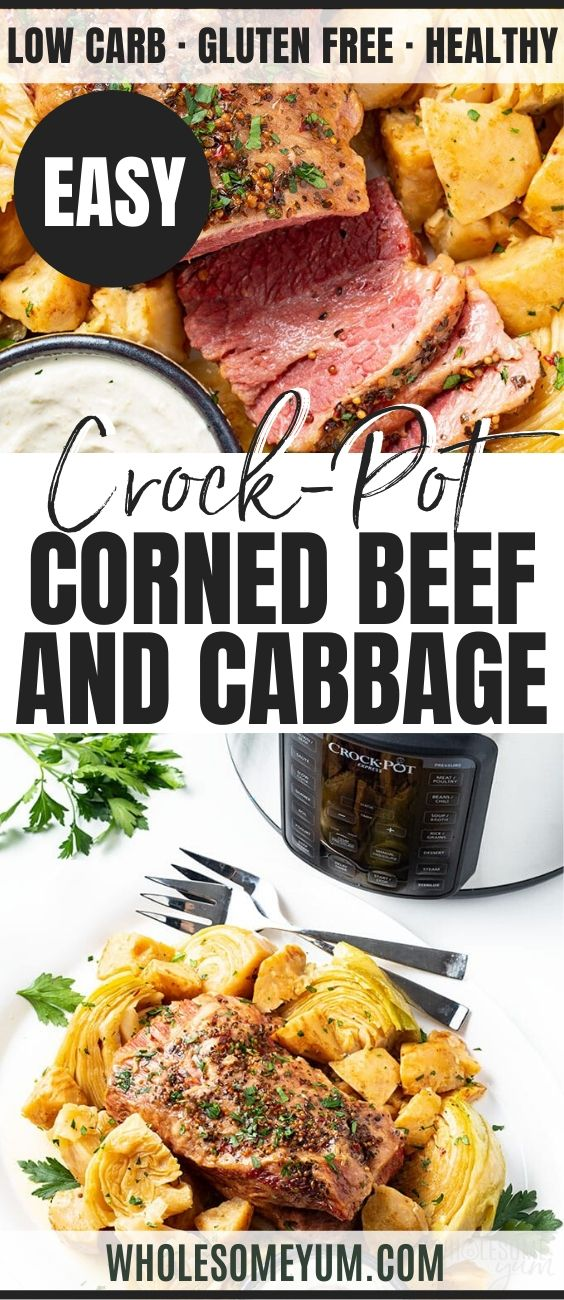 Pressure Cooker Keto Corned Beef And Cabbage Recipe The Ultimate