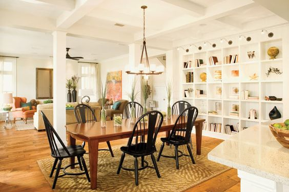 Love The Ceilings And Openness House Plan With Loft Southern Living House Plans Dining Room Design