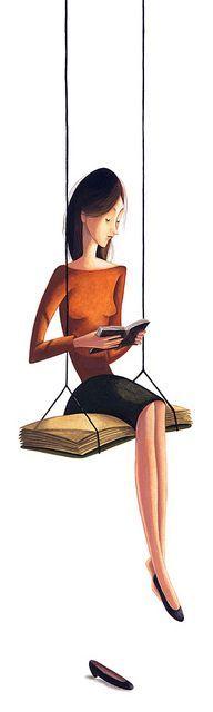 «Quando una persona cara ci dà un libro da leggere, la prima cosa che facciamo è cercarla tra le righe». Daniel Pennac