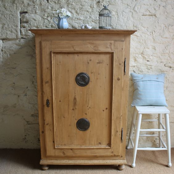 Victorian Pine Food Cupboard | Cupboards | Furniture