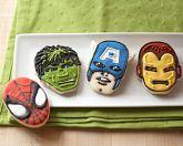Superhero cookie cutters / superhero party favor?