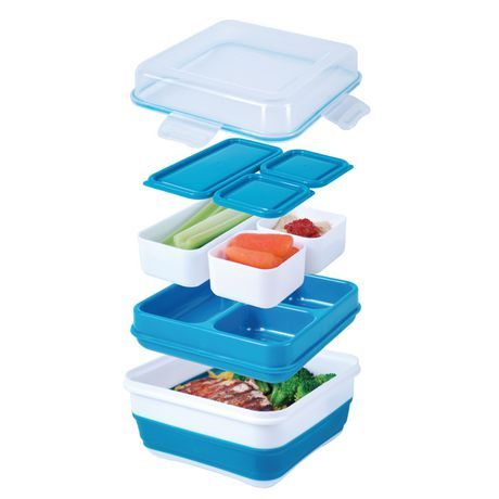 ez freeze collapsible bento box kids kids kids pinterest bento bento box. Black Bedroom Furniture Sets. Home Design Ideas