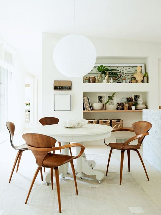 Beautiful kitchen dining area | Leanne Ford