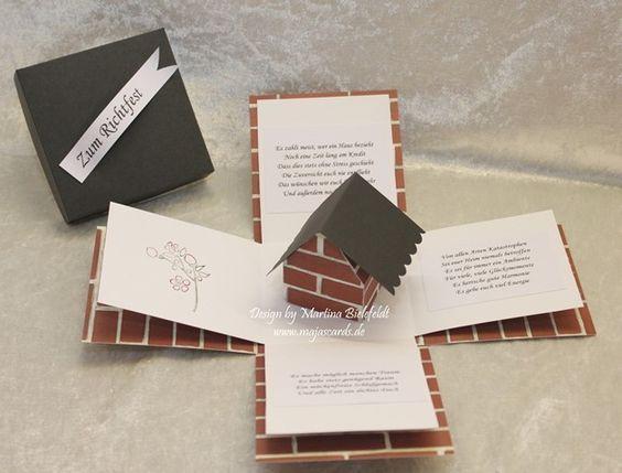 Magic Box zum Richtfest / Einzug / Hausbau  Magic Box und Schachteln
