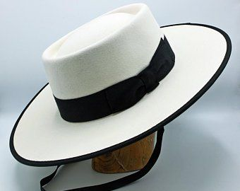 The Portuguese Riding Hat Handmade Bolero Hat Etsy In 2020 Black Wide Brim Hat Riding Hats Wide Brim Hat Men