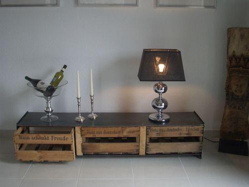 alte weinkisten bekommen ein neues leben decoration pinterest. Black Bedroom Furniture Sets. Home Design Ideas