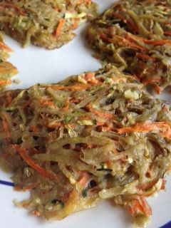 Want an easy way to fit in your veggies?  Try out this recipe for Veggie Potato Patties!   Learn more at shineonwithkristen.com.
