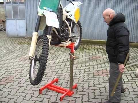 Sollevatore Issof 2014 Youtube Bike Lift Bike Stand Scooter