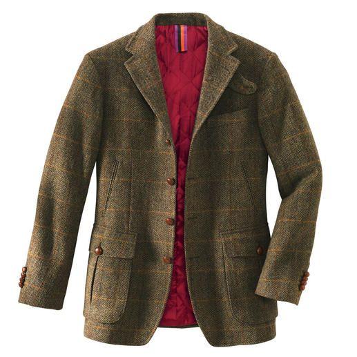 "Hunting Jacket ""Irish Tweed"" The stylish alternative to high-tech"