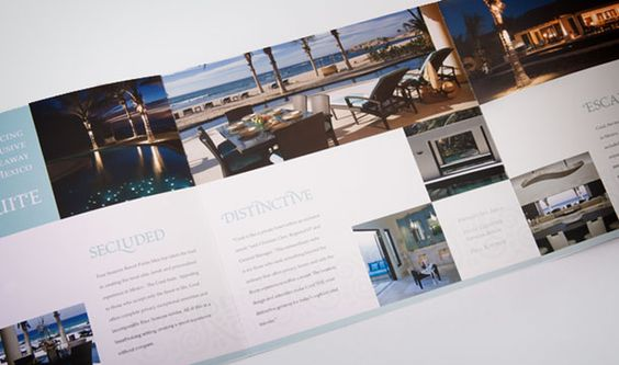 Four Seasons Punta Mita residence brochure that I did while at VVC/JacobTyler.