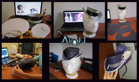 Hat of my Aion Cosplay