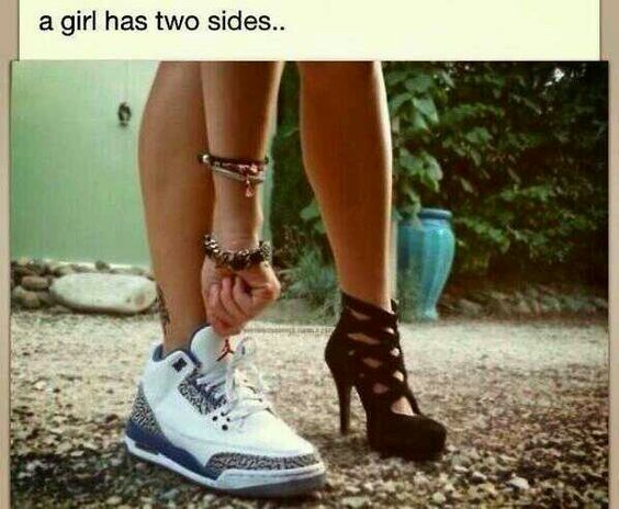 Every girl has two sides | Tumblr/Text/Yahoo fails&funny