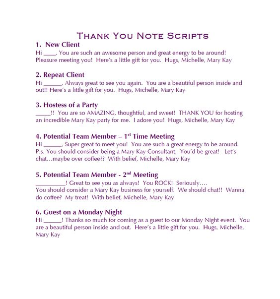 how to create a sales script