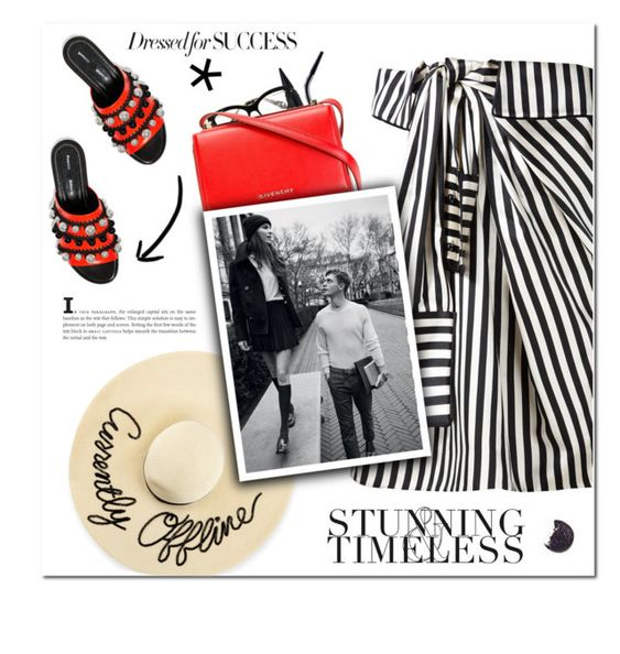 """Timeless"" by vampirella24 ❤ liked on Polyvore featuring Lancôme, Miu Miu, Monse, Givenchy, Proenza Schouler, Eugenia Kim and MANGO"