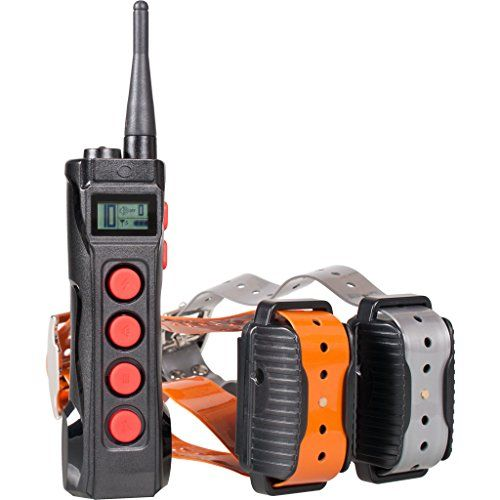 Aetertek AT-919C Super Two Pet Dog Electronic Shock Collar Training System For Sport Large Dogs 1000M Remote Range Waterproof Rechargeable collars ** More info could be found at the image url.