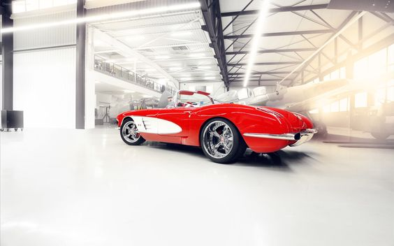 Chevrolet Corvette 1959 Pogea Racing