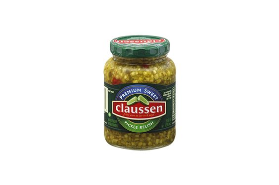 Kraft Claussen Sweet Pickles/relish (refrigerated)…