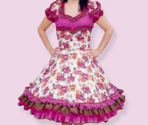 Fotos de vestidos de huasa | Vestidos de china | Pinterest | Vestidos
