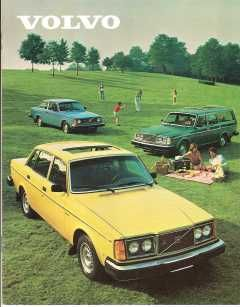 1980 Volvo 240 Brochure: DL, GT, GL, GLE and Bertone Models