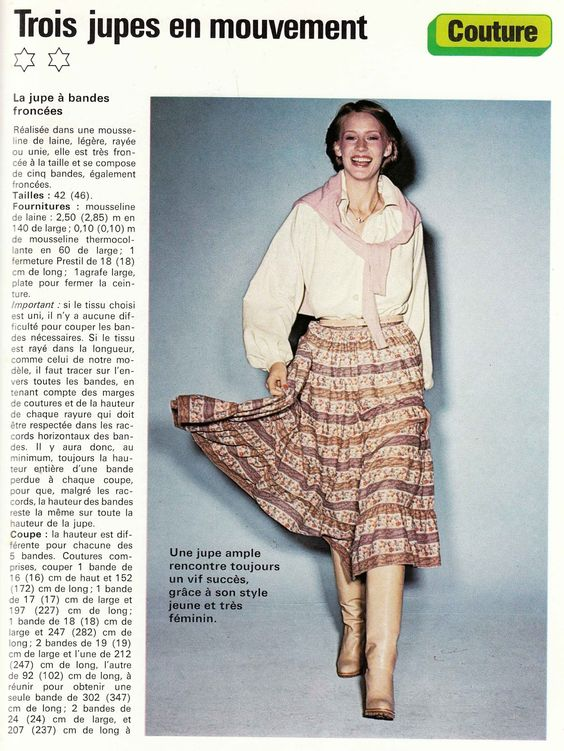 modele tricot gratuit retro