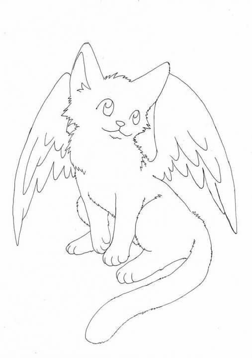Cats With Wings Coloring Pages Dœd D Dºd N N D D Dºd D D D Dµdºn Dsd D D Dµdºn D D In 2020 Cat Coloring Page Animal Coloring Pages Dog Coloring Page