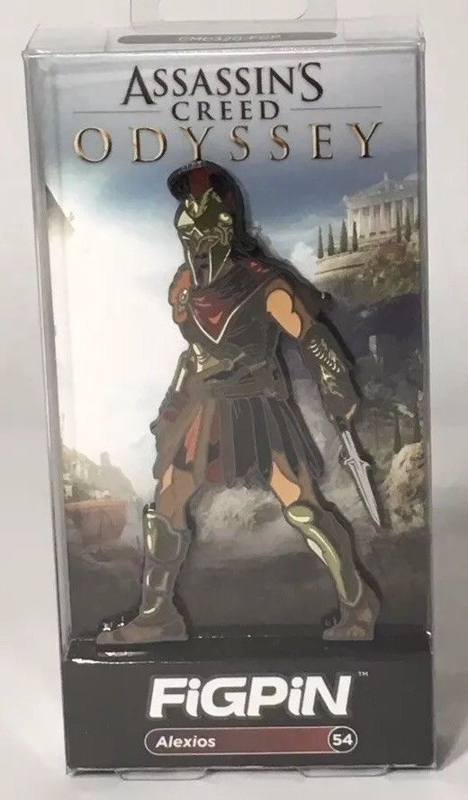 Assassin S Creed Odyssey Alexios Figpin Rare 54 Target Exclusive