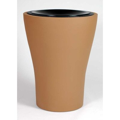 Allied Molded Products Tulip Receptacle 60 Gallon Waste Basket