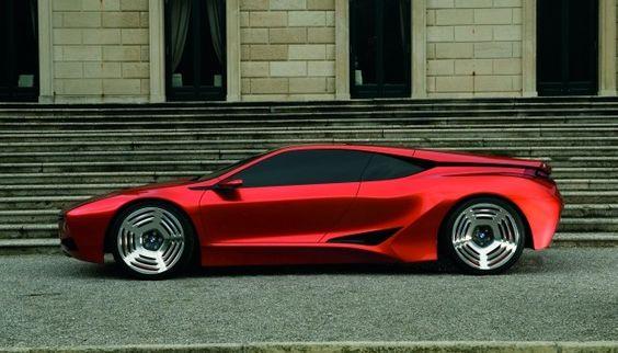 BMW Design Concept Cars – BMW M1 Hommage #Nobelio #Luxusauto #Luxurycar  #Supercar  #Sportwagen #BMW #BMWM1Hommage