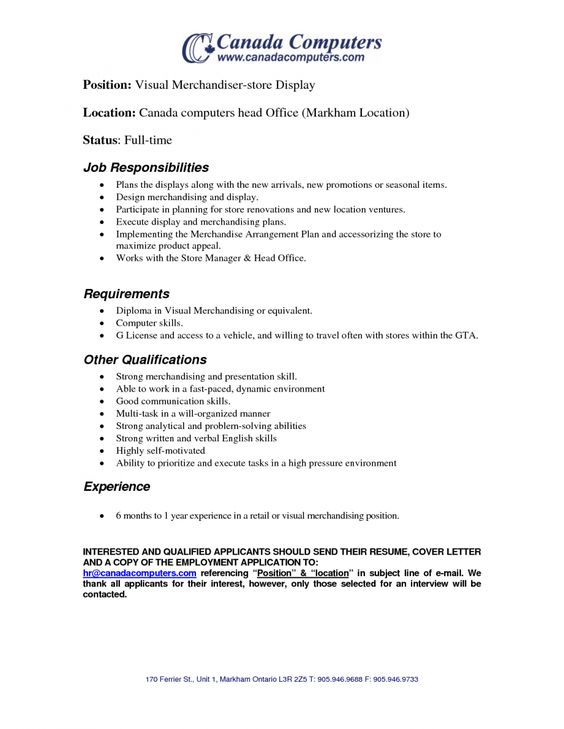 textile merchandiser sample resume infrastructure support cover - retail store manager cover letter