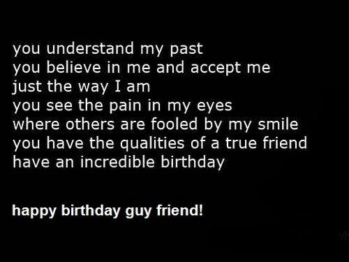 Happy Birthday For A Man Best Birthday Quotes Guy Friends Birthday Quotes