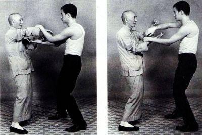 @HistoryInPix : Bruce Lee and his teacher Chinese martial artist Ip Man https://t.co/jrpIkPhABT