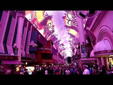 ▶ Doors Strange Days - Viva Vision show, Fremont Street Experience, Las Vegas 2010 - YouTube
