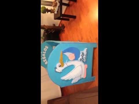 Cuna de cartón para beby shawer - YouTube