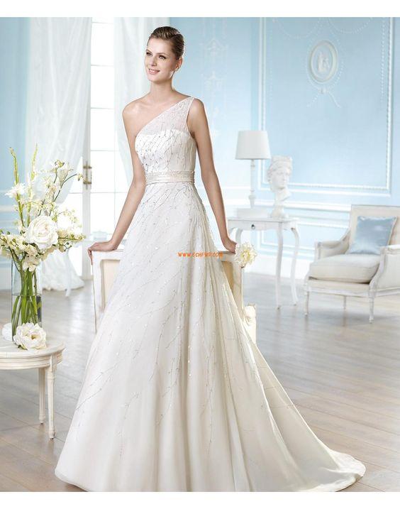 Zahrada / Venkovní Princesové Organza Designer Svatební šaty