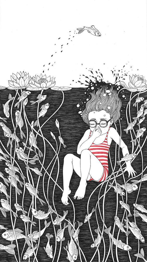 Las bellas y poéticas ilustraciones de Sveta Dorosheva que rinden homenaje a su infancia   FURIAMAG   Visibilizamos - Inspiramos - Conectamos