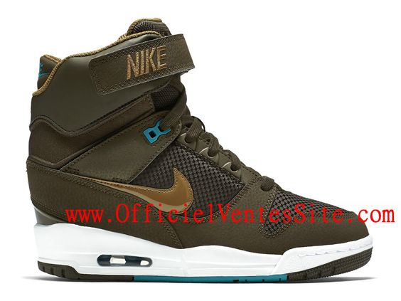 Nike Air Revolution Sky Hi GS Chaussure Montante Nike En ligne Pour Femme Brun…