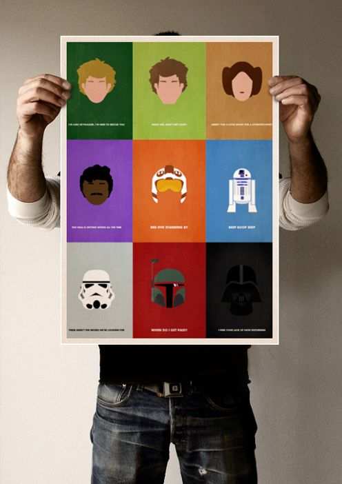 Star Wars Minimal Poster