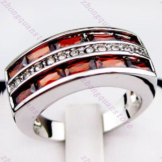gentlemens black and white wear | Sz8/9/10/11/12 Jewellery Lab white sapphire Gentlemen's 10KT yellow ...