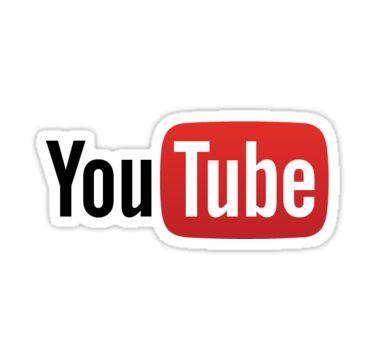 Pegatinas «Logotipo de Youtube» de gabbybevan   Redbubble