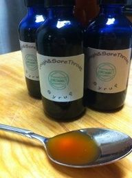 Homemade Cough Cold Syrup that is safe for Pregnant and Breastfeeding Mamas as well as children!