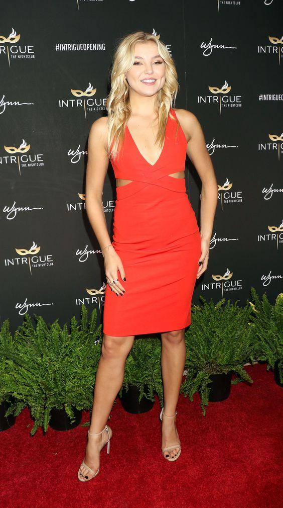 Rachel Hilbert at the Intrigue Nightclub Grand Opening, Las Vegas (29 April, 2016)