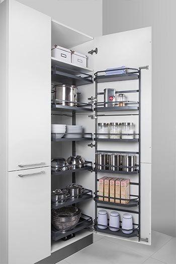Küchenschrank-Innenausstattung Auszüge, Einsätze \ Co Ideen - korbauszüge für küchenschränke