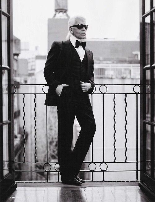 Karl Lagerfeld..HOT DAMN
